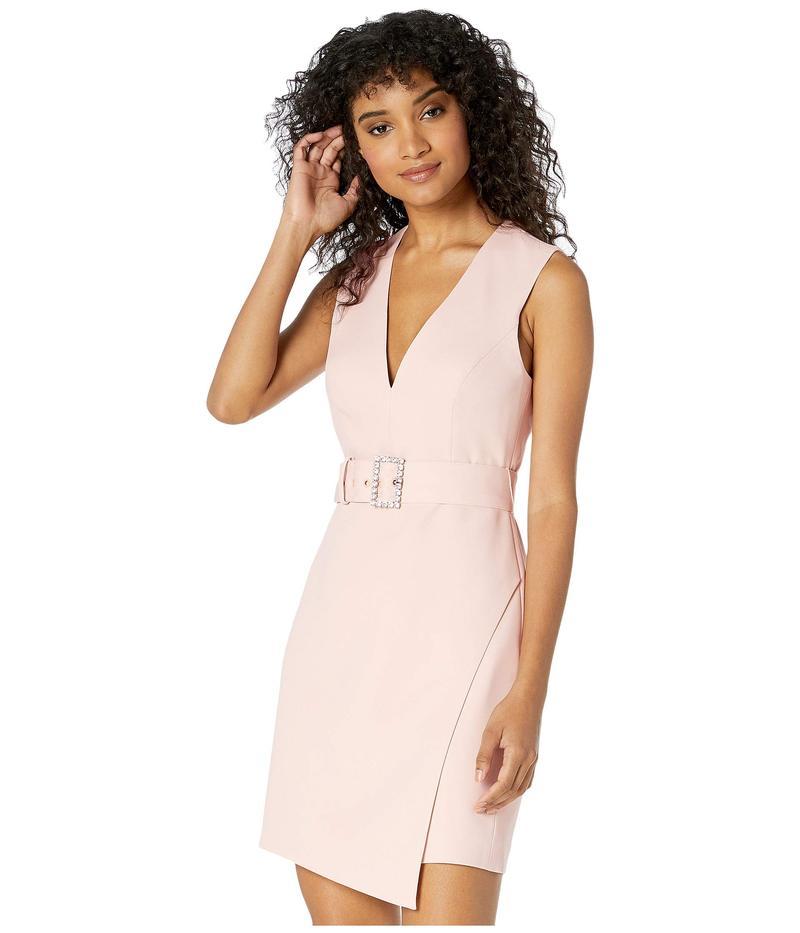 ビーシービージーマックスアズリア レディース ワンピース トップス Cocktail Dress with Belt Bare Pink