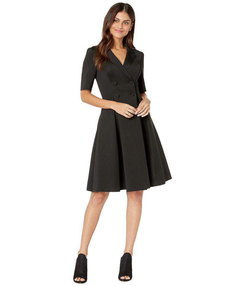 バッジェリーミシュカ レディース ワンピース トップス Flare Scuba Suit Dress Black