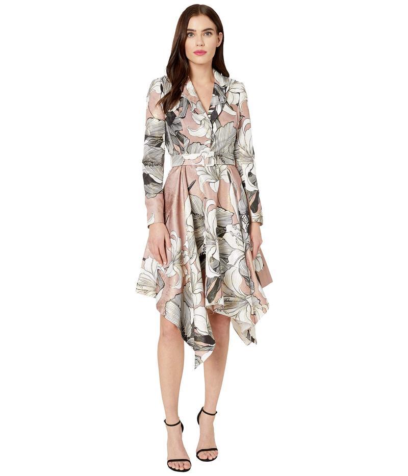 バッジェリーミシュカ レディース ワンピース トップス Printed Handkerchief Suit Dress Dusty Mauve
