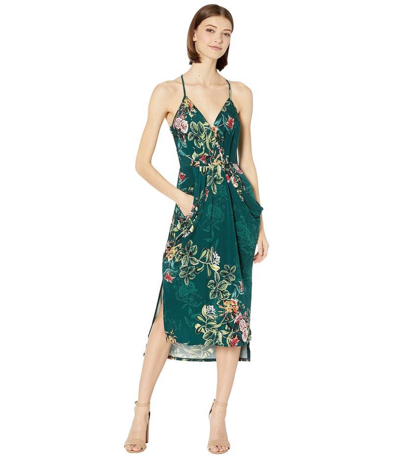 BCBジェネレーション レディース ワンピース トップス Drape Pocket Dress TIM6169244 Dark Green