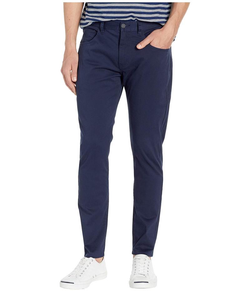 ベンシャーマン メンズ カジュアルパンツ ボトムス Five-Pocket Trousers Navy Blazer