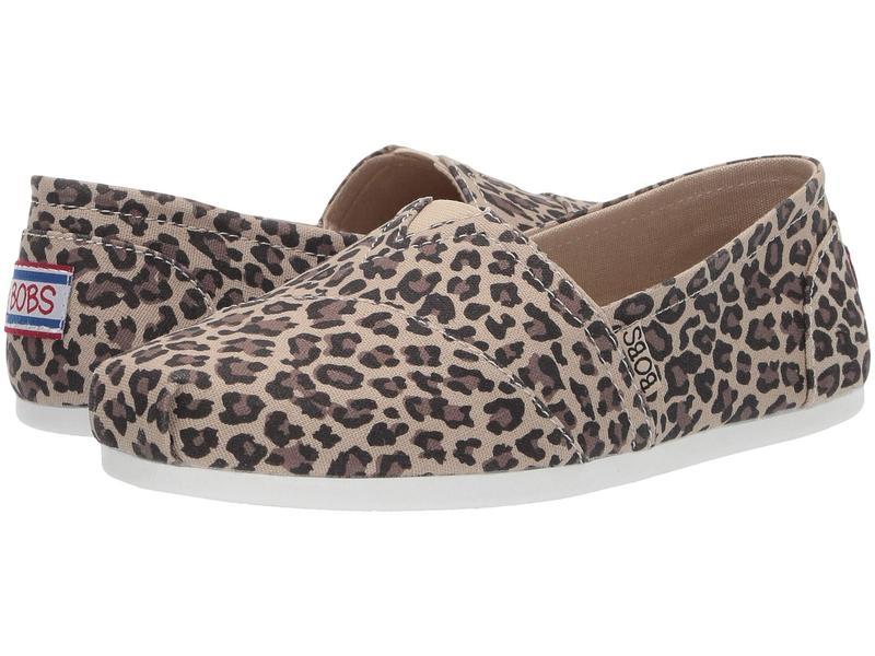 スケッチャーズ レディース サンダル シューズ Bobs Plush - Hot Spotted Leopard