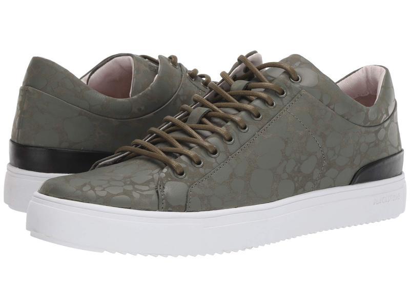 ブラックストーン メンズ スニーカー シューズ Low Sneaker - RM11 Dark Green Terrazzo