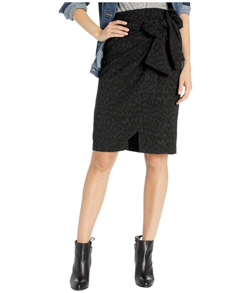 ビーシービージーマックスアズリア レディース スカート ボトムス Wrap Front Skirt Black