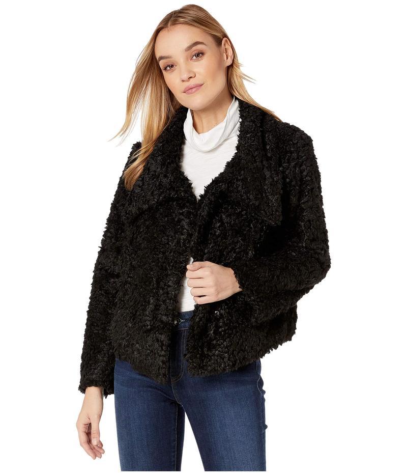 ビショップアンドヤング レディース コート アウター Cropped Faux Fur Jacket Black