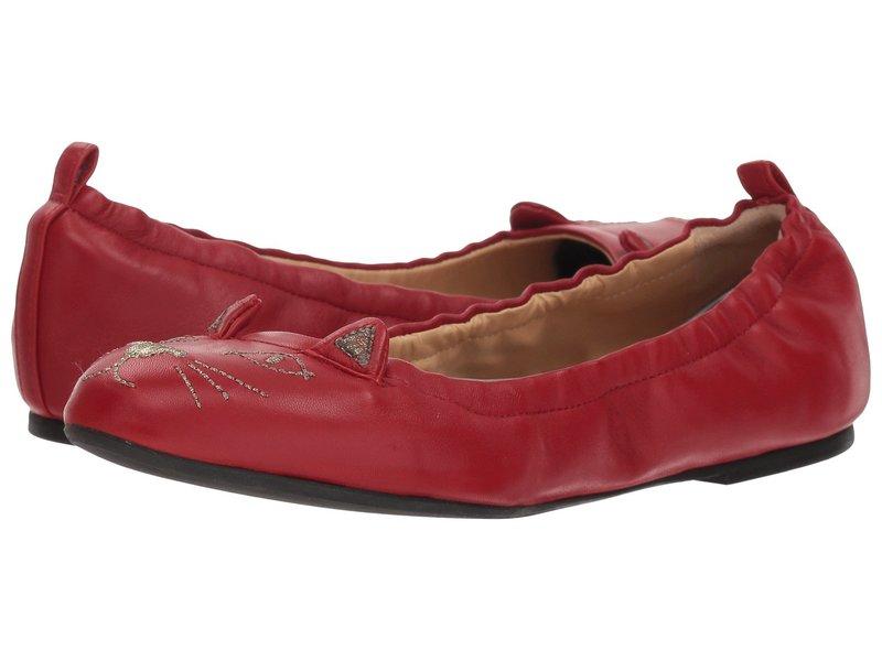 シャーロットオリンピア レディース サンダル シューズ Kitty Ballerina Rose Red Nappa