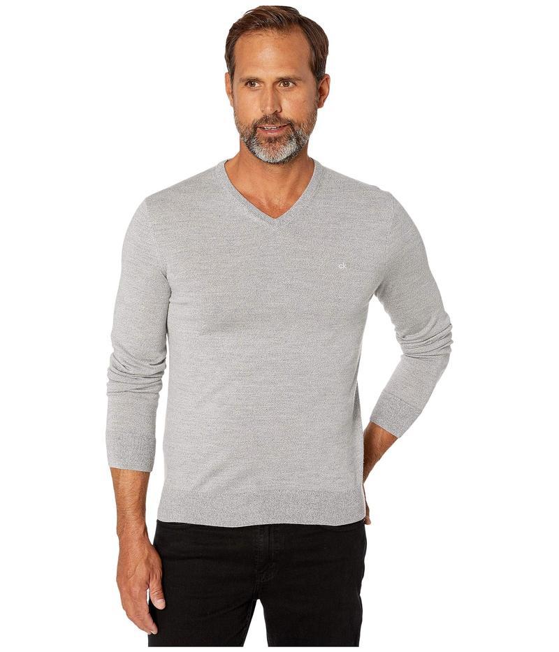 カルバンクライン メンズ ニット・セーター アウター Merino V-Neck Sweater 12 Schio