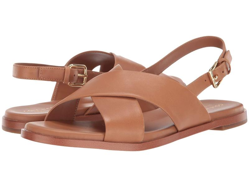コールハーン レディース サンダル シューズ Fernanda Grand Flat Sandal Pecan Leather