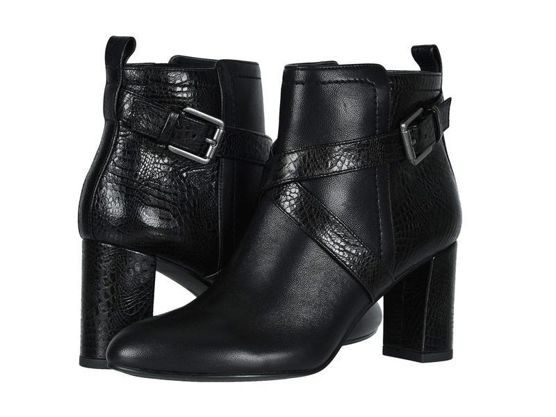 ダイビッドテイト レディース ブーツ・レインブーツ シューズ Inspire Black Naked Leather