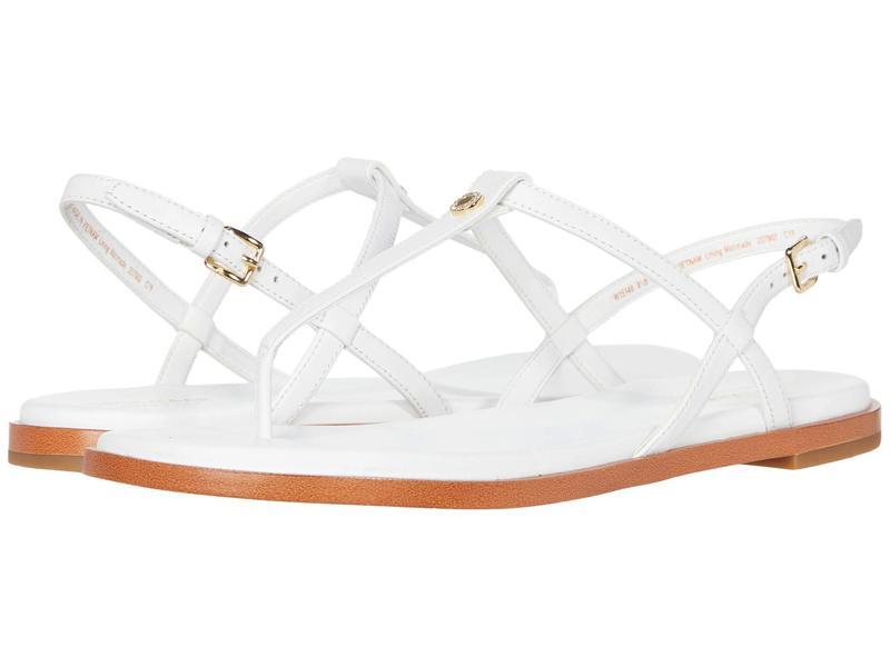 コールハーン レディース サンダル シューズ Flora Thong Optic White Leather