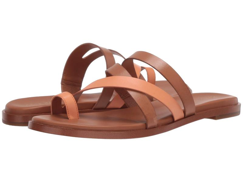 コールハーン レディース サンダル シューズ Flavia Grand Thong Sandal Pecan Leather/Cantalope Leather