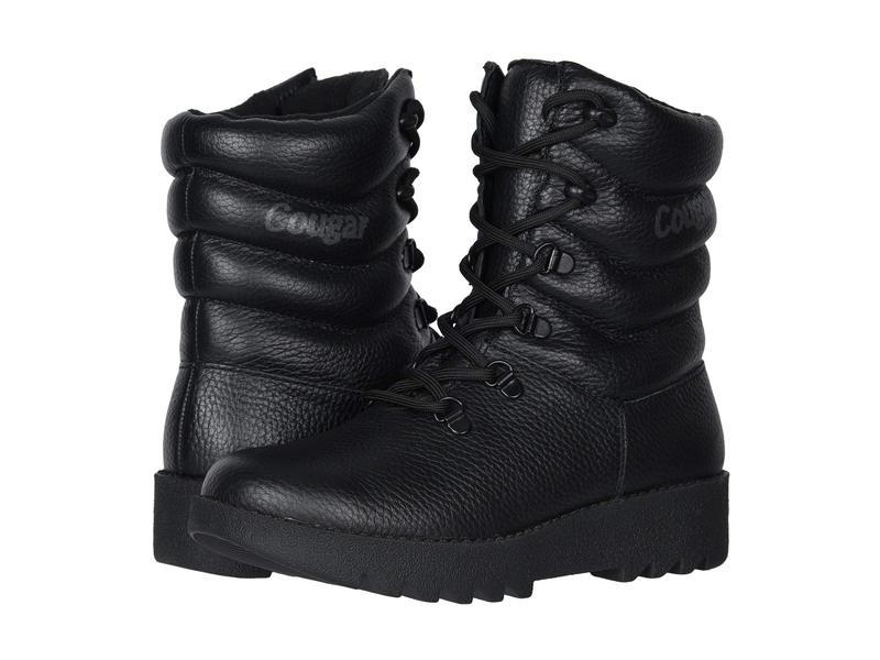 クーガー レディース ブーツ・レインブーツ シューズ Blackout Waterproof Blackout Bounty Leather