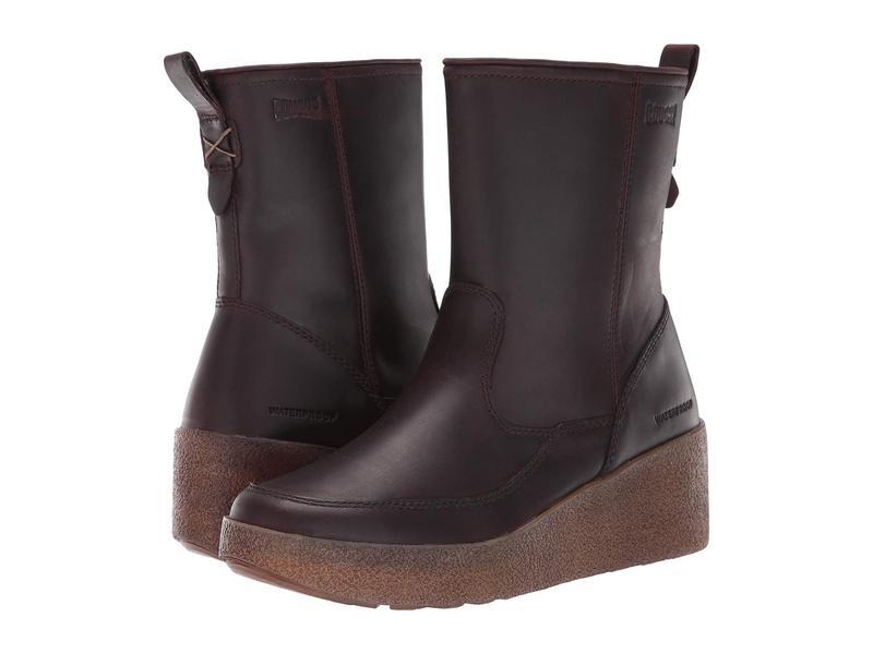 クーガー レディース ブーツ・レインブーツ シューズ Devlin Waterproof Cask Leather