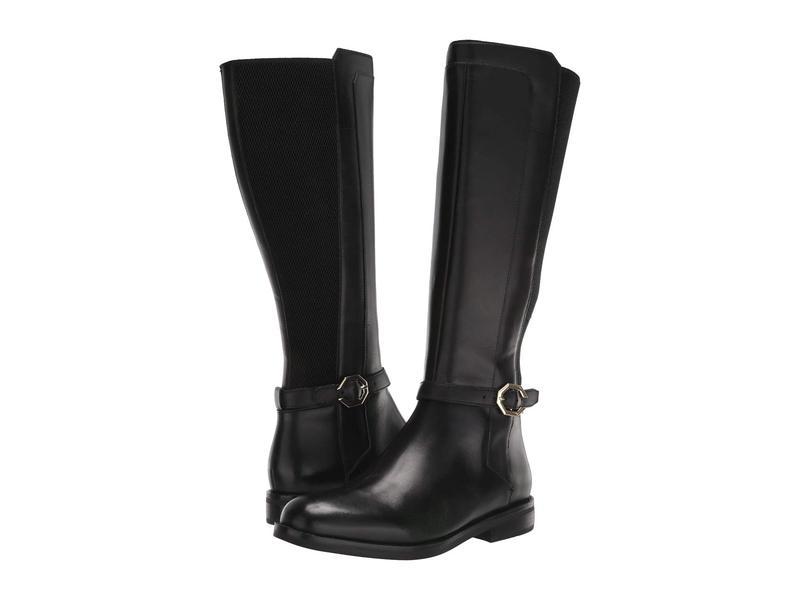 コールハーン レディース ブーツ・レインブーツ シューズ Ivy Stretch Boot Black Leather/Stretch