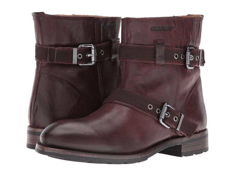 セバゴ レディース ブーツ・レインブーツ シューズ Laney Mid Boot Burgundy Leather