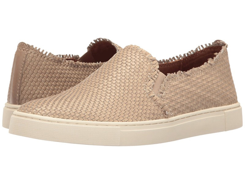 フライ レディース スニーカー シューズ Ivy Fray Woven Slip-On Cement Polished Soft Full Grain