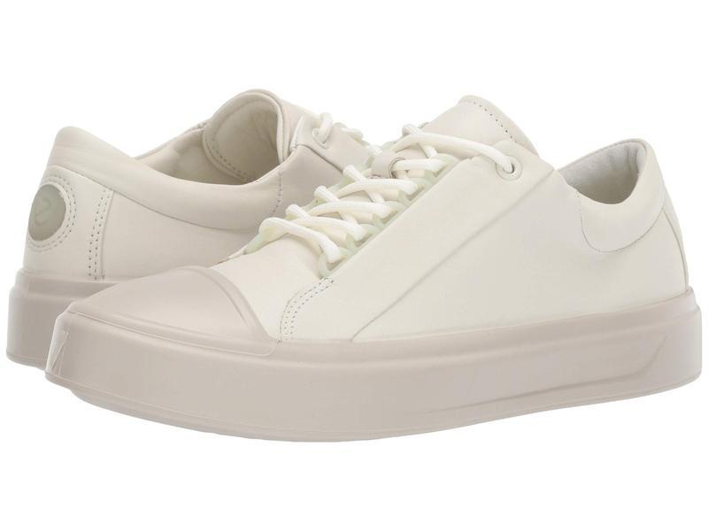 エコー レディース スニーカー シューズ Flexure T-Cap Sneaker Shadow White