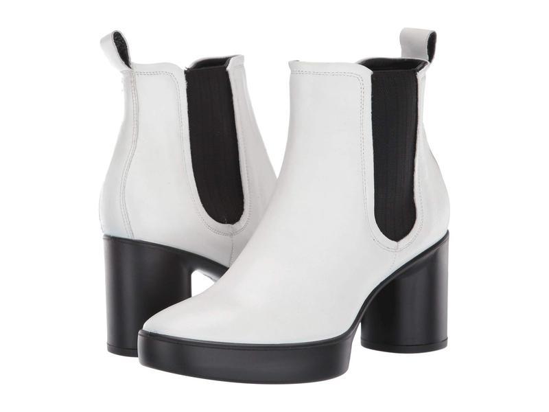 エコー レディース ブーツ・レインブーツ シューズ Shape Sculpted Motion 55 Chelsea Boot Bright White