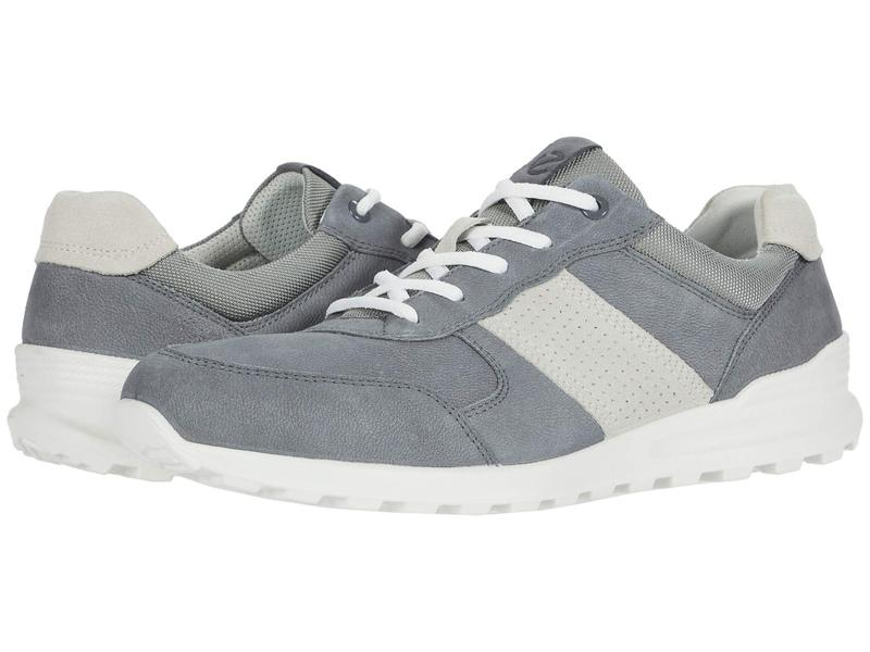 エコー メンズ スニーカー シューズ CS20 Casual Trainer Titanium/Shadow White
