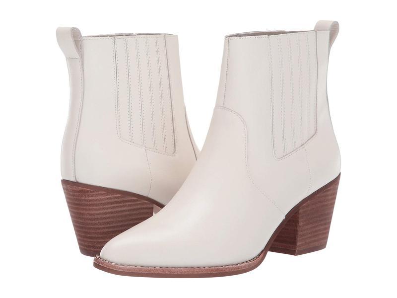 ジェイクルー レディース ブーツ・レインブーツ シューズ Leather Chelsea Western Boot Ivory