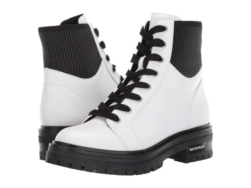 ケネスコール レディース ブーツ・レインブーツ シューズ Rhode Lace-Up Boot WP White