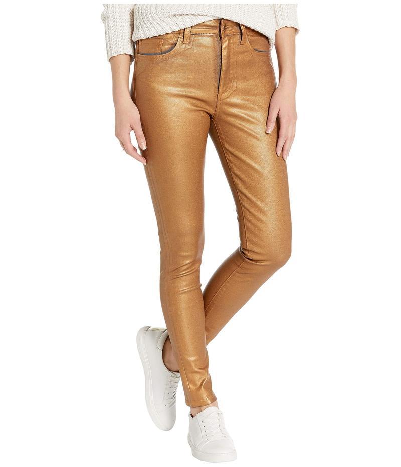 ジョーズジーンズ レディース デニムパンツ ボトムス Charlie Ankle Coated in Gold Metallic Gold Metallic