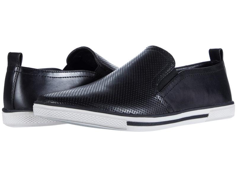 ケネスコール メンズ スニーカー シューズ Crown Slip-On Black