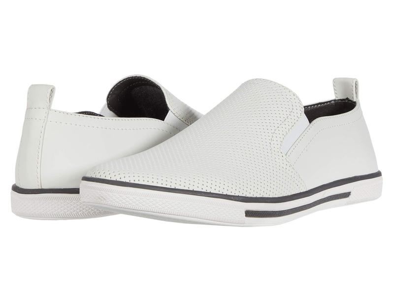 ケネスコール メンズ スニーカー シューズ Crown Slip-On White
