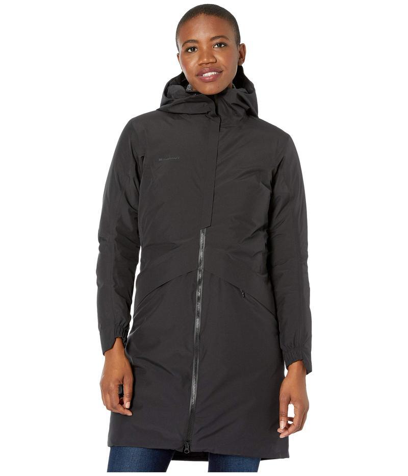 Coat レディース HS Black Thermo コート Hooded 3379 マムート アウター