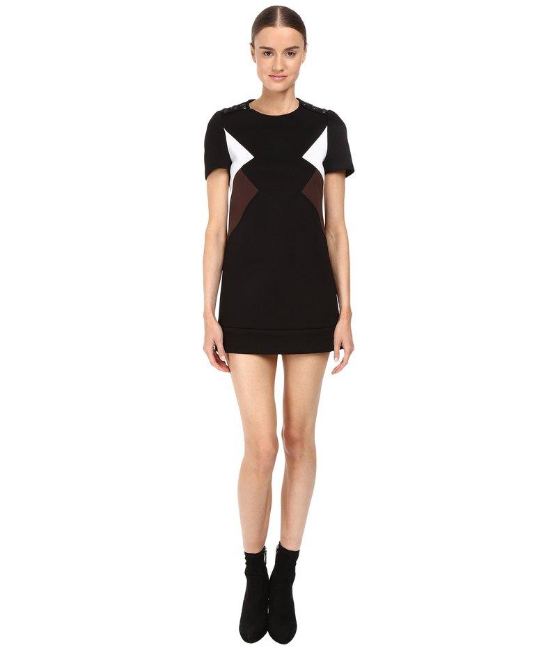 ニールバレット レディース ワンピース トップス Modernist Fitted Sweatshirt Dress Black