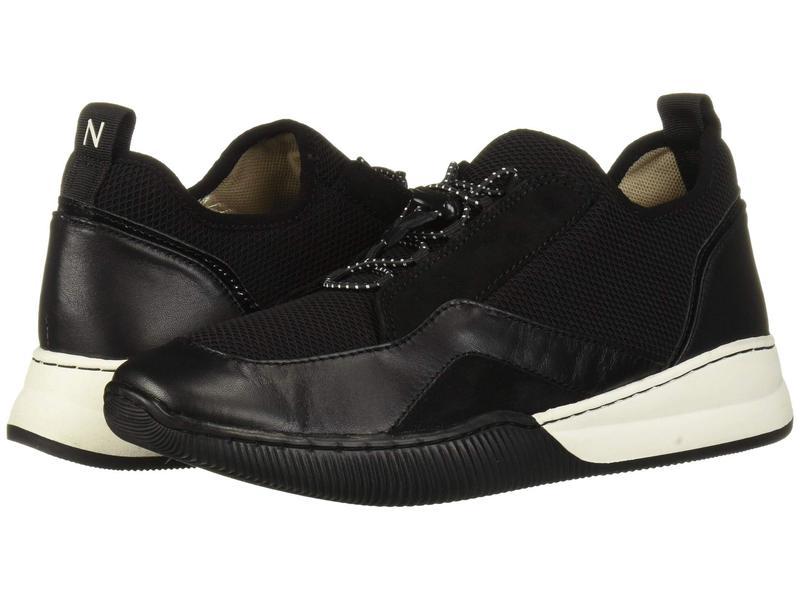 ナチュライザー レディース スニーカー シューズ Unison Black Fabric/Leather