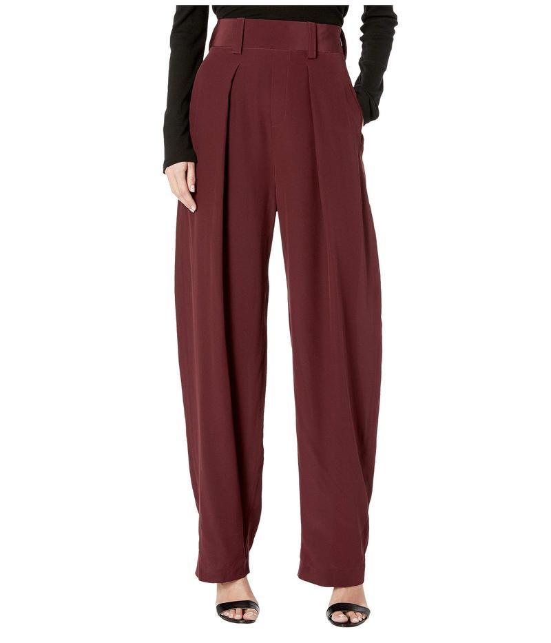 ニールバレット レディース カジュアルパンツ ボトムス High-Waist Pants Bordeaux