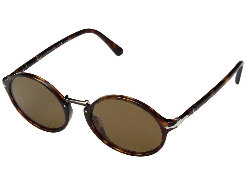 ペルソル メンズ サングラス・アイウェア アクセサリー 0PO3208S Havana/Brown Polarized