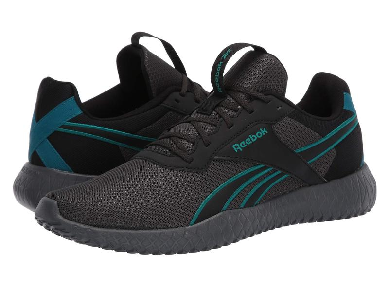 リーボック メンズ スニーカー シューズ Flexagon Energy TR 2.0 Cold Grey/Black/Seaport Teal