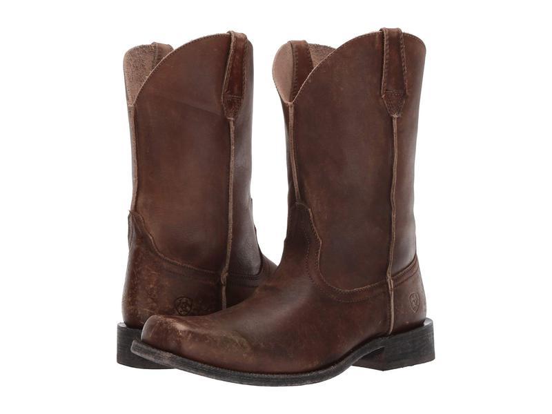 アリアト メンズ ブーツ・レインブーツ シューズ Rambler Leather Sole Naturally Distressed Brown