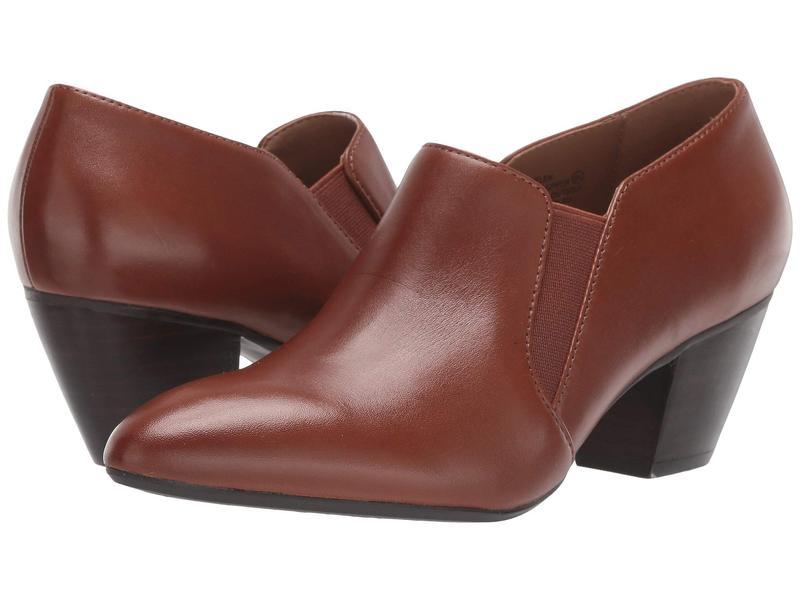 エアロソールズ レディース ヒール シューズ Martha Stewart Helen Brown Leather