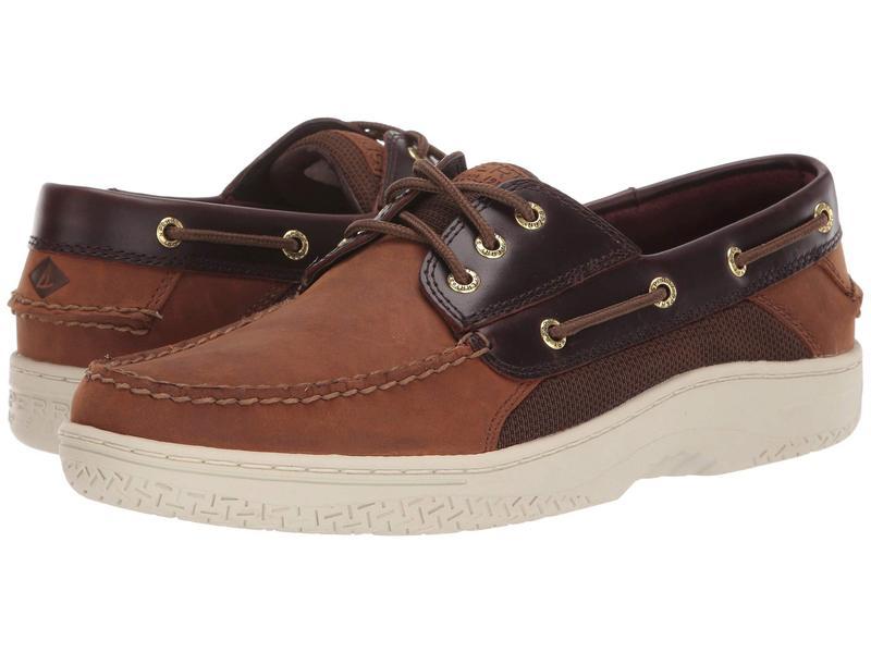 スペリー メンズ デッキシューズ シューズ Billfish 3-Eye Boat Shoe Brown Buc/Brown 1