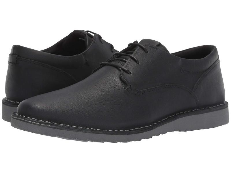 スティーブ マデン メンズ オックスフォード シューズ Pallot Black Leather