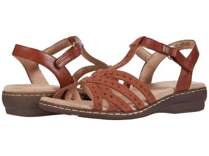 ソウルニュトライザー レディース サンダル シューズ Brielle Saddle Leather/Fabric