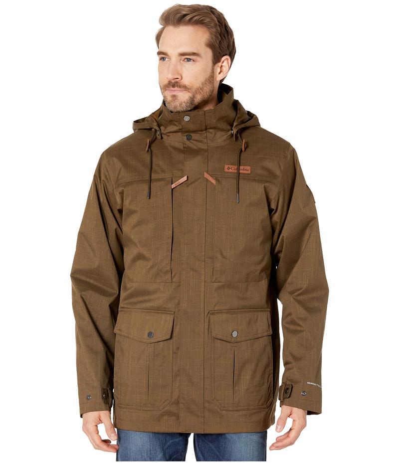 コロンビア メンズ コート アウター Horizons Pine¢ Interchange Jacket Olive Green/Olive Brown