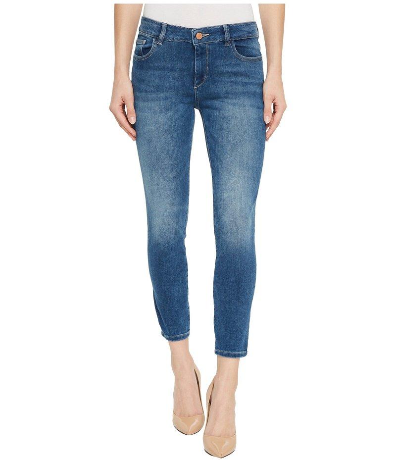 ディーエル1961 レディース デニムパンツ ボトムス Florence Instasculpt Crop Jeans in Everglade Everglade