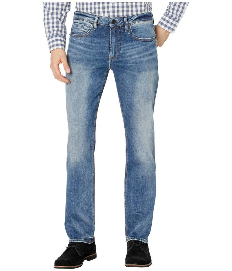 バッファロー・デイビッド・ビトン メンズ デニムパンツ ボトムス Ash-X Slim Leg Jeans in Contrast Whiskered Contrast Whiskered