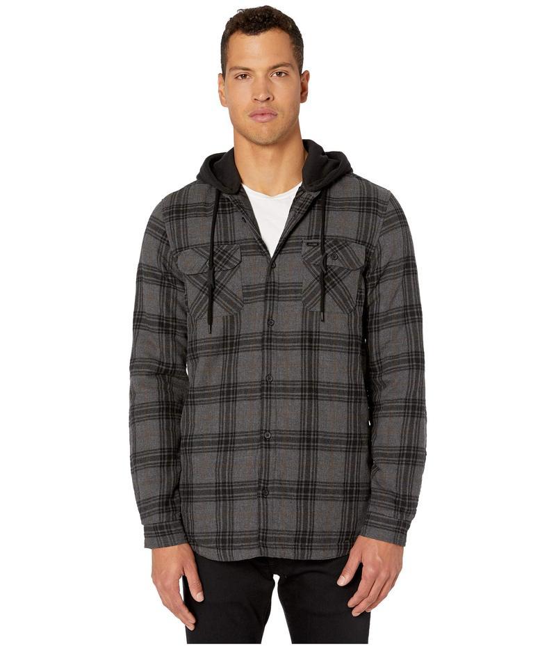 グローブ メンズ パーカー・スウェット アウター Alford III Long Sleeve Shirt Slate Grey