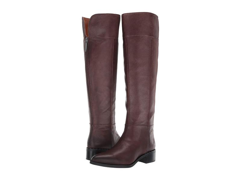 フランコサルト レディース ブーツ・レインブーツ シューズ Daya Brown Leather
