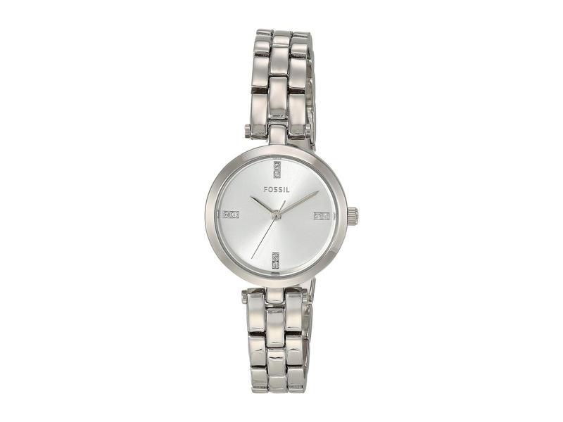 フォッシル レディース 腕時計 アクセサリー 26 mm Caila BQ7023 Silver