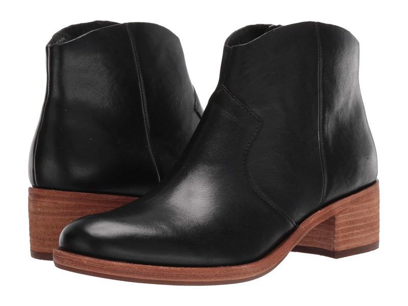 コークイーズ レディース ブーツ・レインブーツ シューズ Casper Black Full Grain Leather