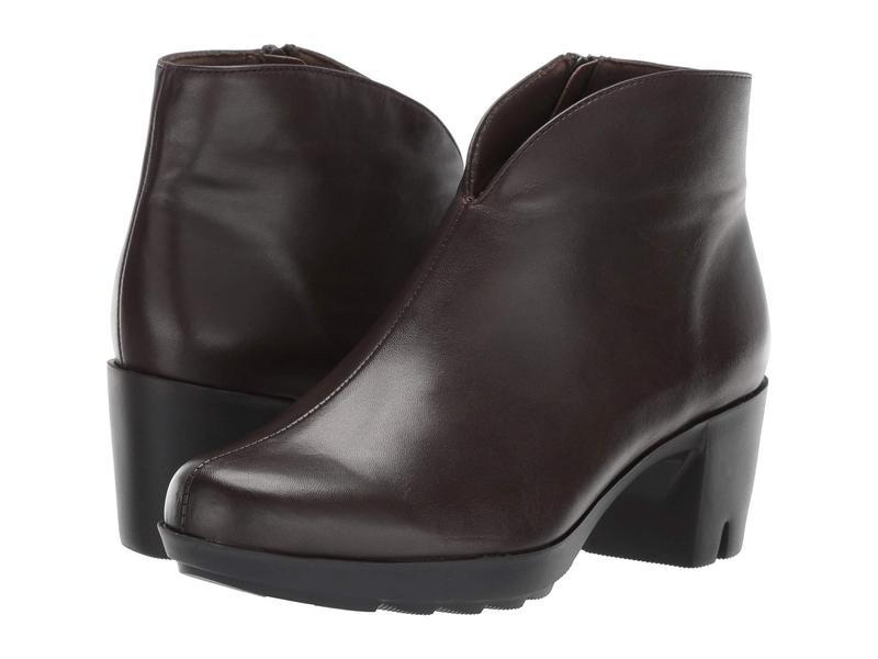 ムンロー レディース ブーツ・レインブーツ シューズ Robynette Bittersweet Leather