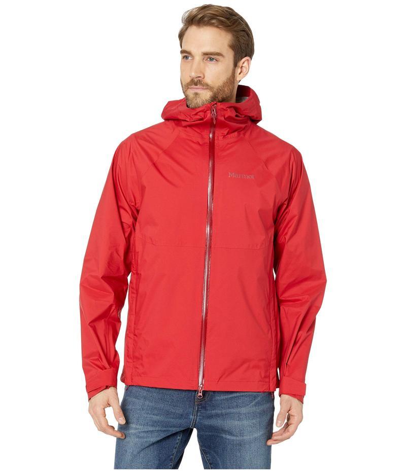 マーモット メンズ コート アウター PreCip Stretch Jacket Team Red
