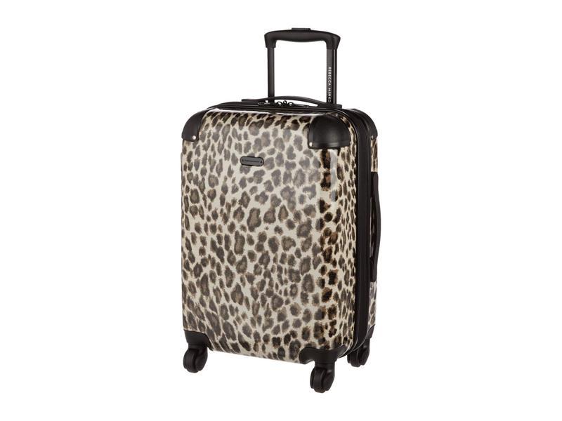 レベッカミンコフ メンズ ボストンバッグ バッグ Kate Carry-Over Leopard