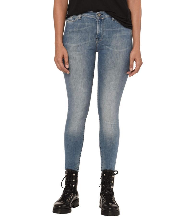 オールセインツ レディース デニムパンツ ボトムス Grace Jeans Fresh Blue